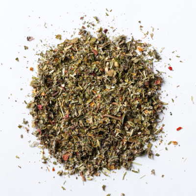 mama to be pregnancy support loose leaf herbal blend of oat straw, nettle, alfalfa, raspberry leaf